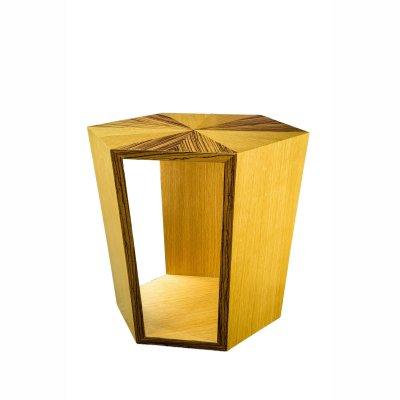 Table hexagone