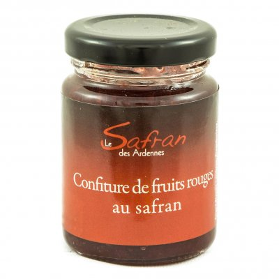 Confiture de fruits rouges au safran